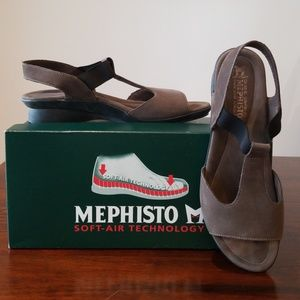 NEW IN BOX (NIB) Mephisto Petrea Sandals Size 41EU